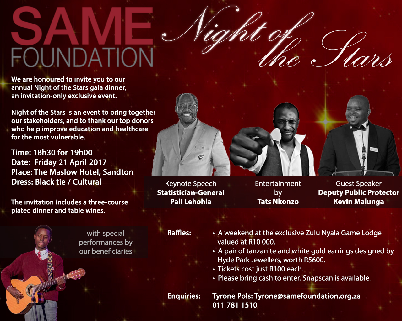 Night of the Stars Details