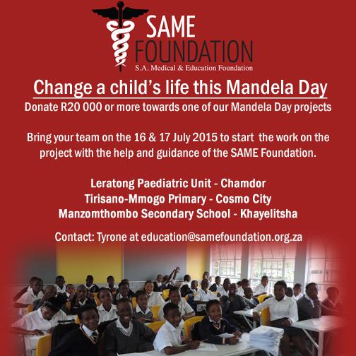 Mandela Day 2015 website